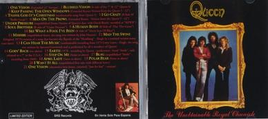 Queen - The Unobtainable Royal Chronicle Volume 1