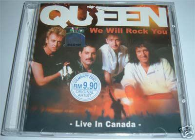 Last released QUEEN bootlegs Last released bootlegs