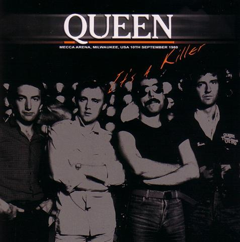 Queen bootleg compact disc